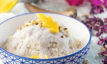 Arroz con mango (Khao Niao Mamuang)
