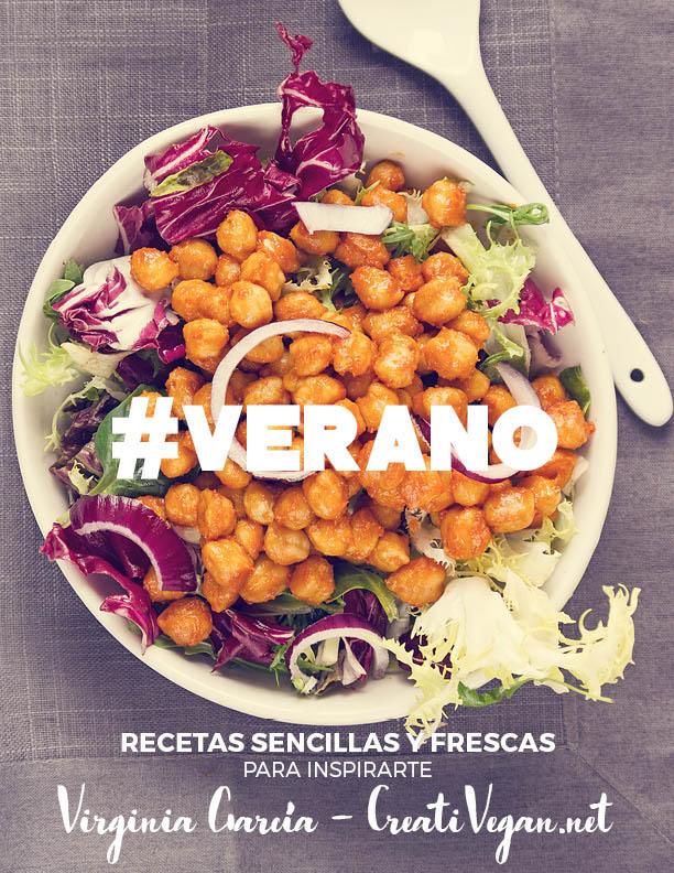 eBook VERANO recetas veganas frescas CreatiVegannet