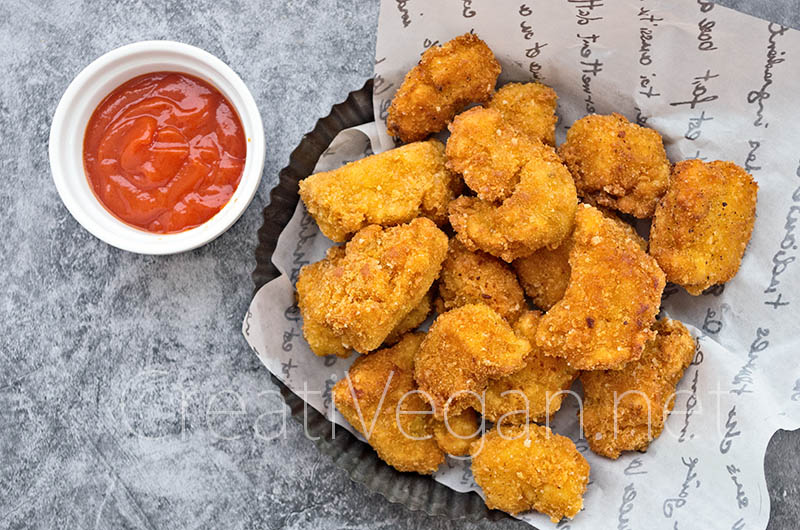 Nuggets de tofu - CreatiVegan.net