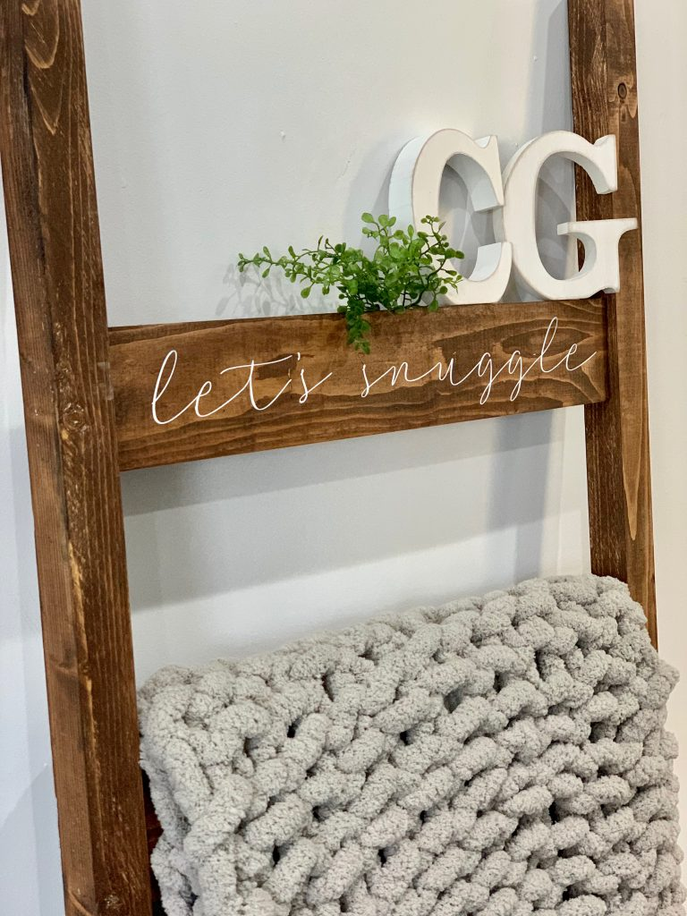 New Personalized Blanket Ladders Creative Grain Studio