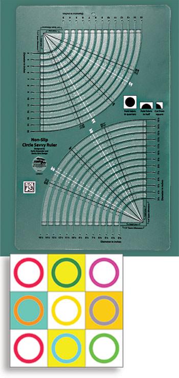Creative Grids UK LTD Creative Grids Circle Savvy Ruler