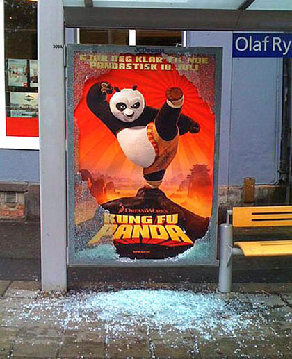 kungfu guerilla marketing example