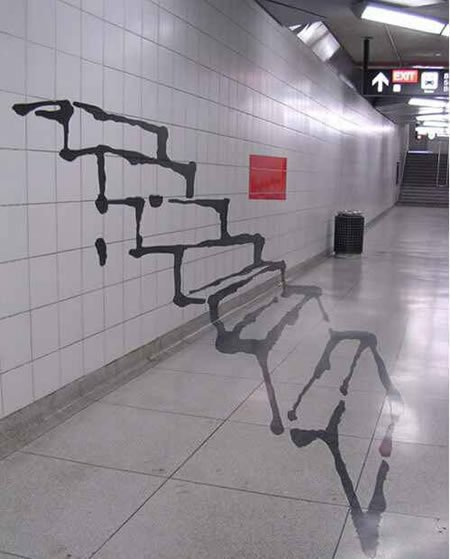 10d41eea4da85e3c12ea71f88c603a87 80+ Amazing Guerrilla Street Art Inspiration Examples Guerilla Marketing Example