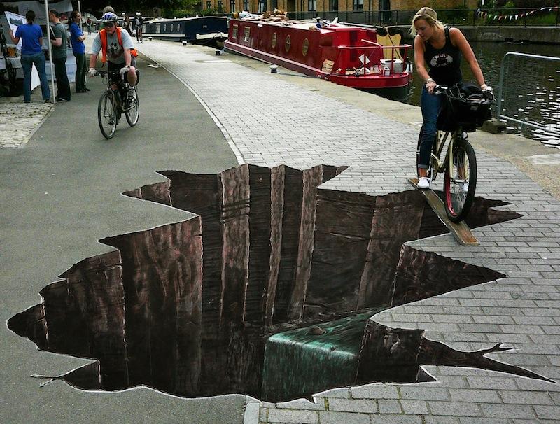 2c32be14a1bbca3c1ede7ca4d877dea2 80+ Amazing Guerrilla Street Art Inspiration Examples Guerilla Marketing Example