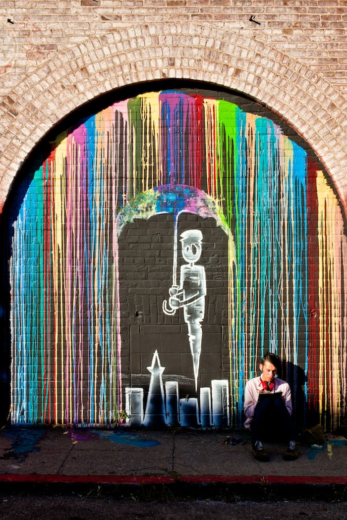 4b92f0014268c5ba44c6f4b3779a6dff 80+ Amazing Guerrilla Street Art Inspiration Examples Guerilla Marketing Example