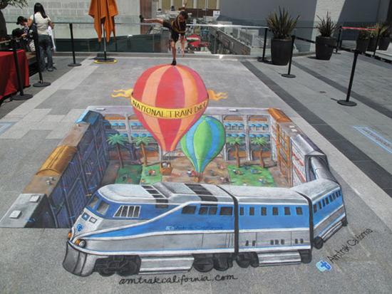 6cb2326e1b2697e231dbb8ef0246e228 55+ Amazing 3D Street Art Guerrilla Marketing Examples Guerilla Marketing Example
