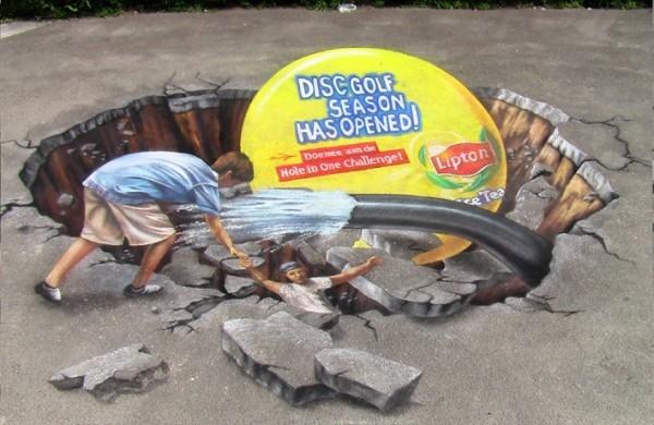 8b9f52c72fab9c98a563a13cc6b7908d 55+ Amazing 3D Street Art Guerrilla Marketing Examples Guerilla Marketing Example