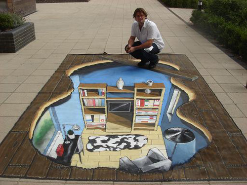 a068d54a39c8f92cee7985a896810279 55+ Amazing 3D Street Art Guerrilla Marketing Examples Guerilla Marketing Example