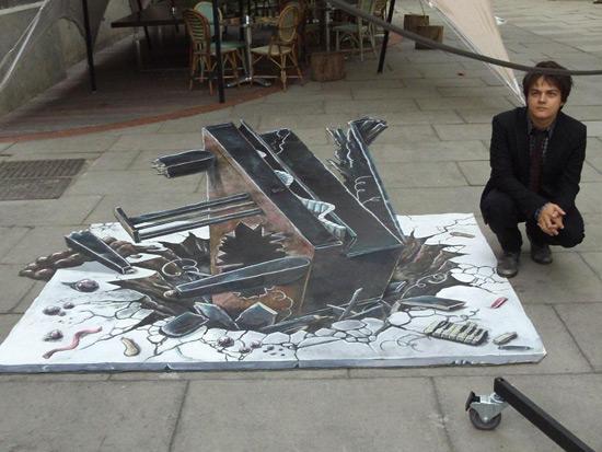 a9c23e0d9f674695606d86211760bafa 55+ Amazing 3D Street Art Guerrilla Marketing Examples Guerilla Marketing Example