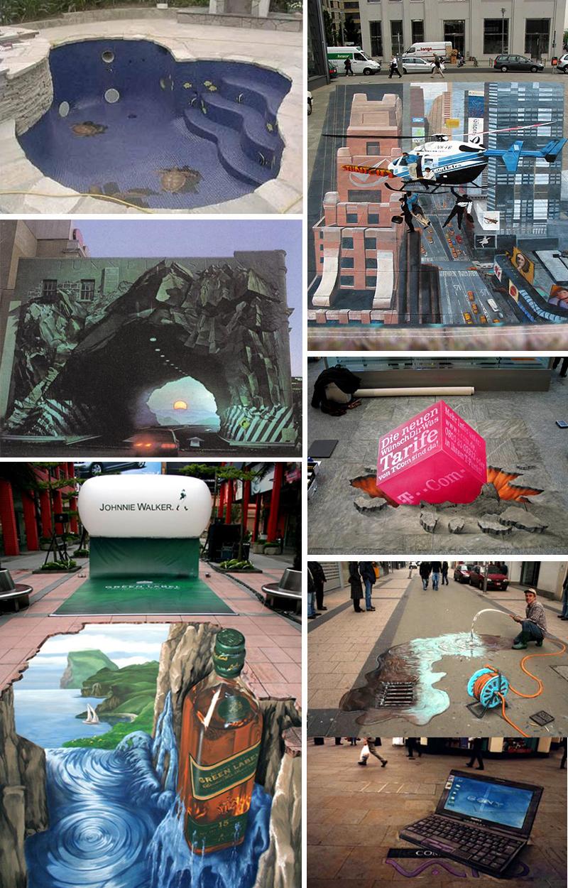 aa590f9195169207754dbdbcb154f317 55+ Amazing 3D Street Art Guerrilla Marketing Examples Guerilla Marketing Example