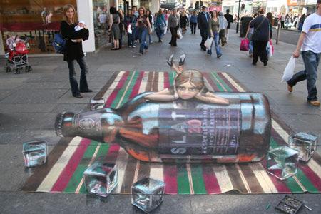 b5dfa3598cbf755a1b11e082be9c93bf 55+ Amazing 3D Street Art Guerrilla Marketing Examples Guerilla Marketing Example