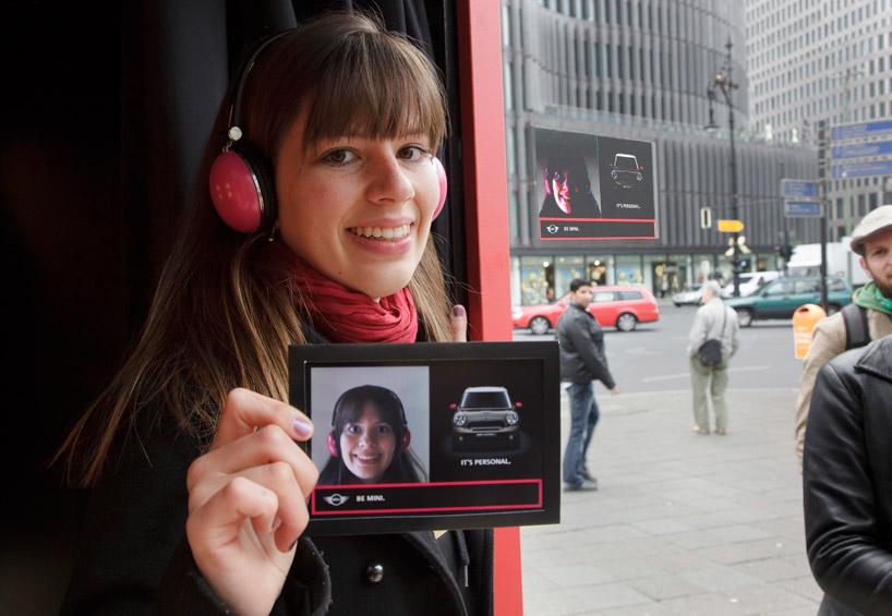 bc1be46fd5cff748b8a3d95e62ef81d5 MINI Its Personal Photo Box Guerrilla Marketing Campaign Guerilla Marketing Example