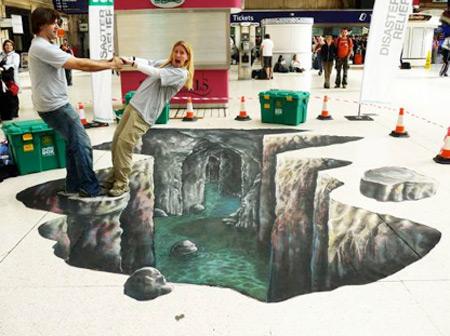fb156cc17417ada40a602e1725ea13d1 55+ Amazing 3D Street Art Guerrilla Marketing Examples Guerilla Marketing Example