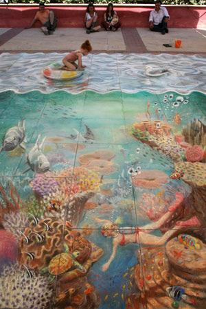 ffd9aa9630291b4e55c8a0990b10c213 55+ Amazing 3D Street Art Guerrilla Marketing Examples Guerilla Marketing Example