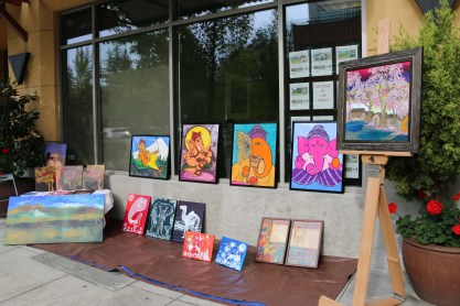 Exhibition at Mill Creek Art Walk
