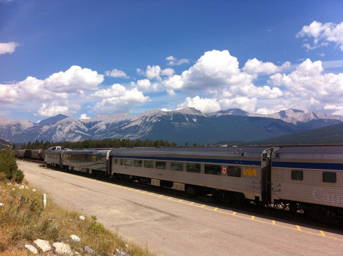 Train Travel Across Canada Via Rail