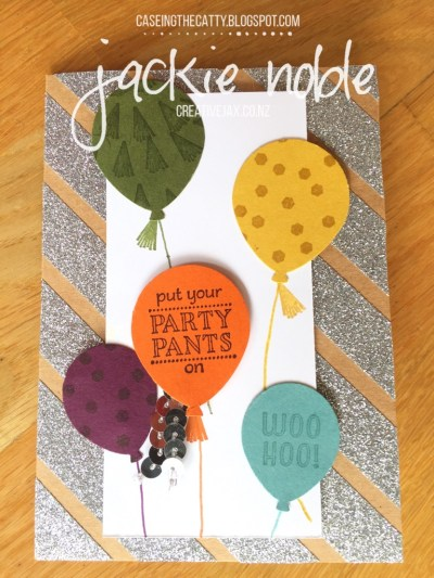 Stampin' Up! SaleABration - Party Pants in 2014 - 2106 In Clolors
