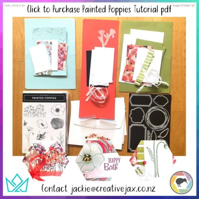 Painted Poppies pdf Tutorial