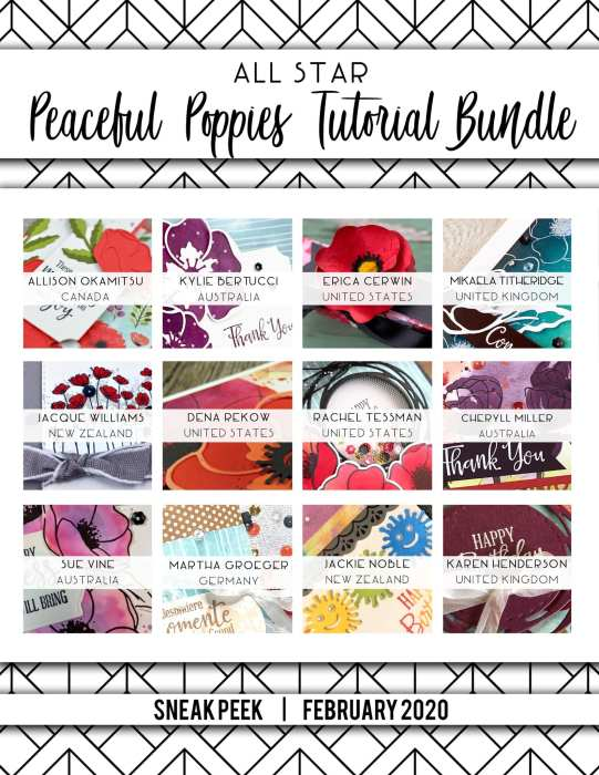 February Tutorial Bundle Sneak Peeks