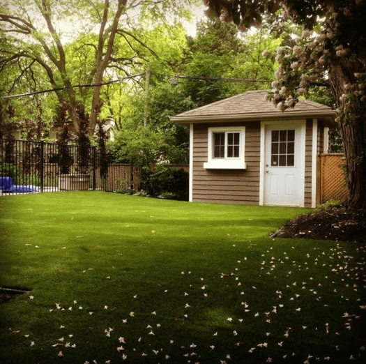 Beautiful Backyard Completed in Artificial Grass