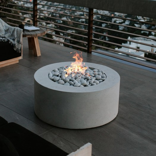 Belmont round firebowl. Cutting edge and quality driven fire bowl