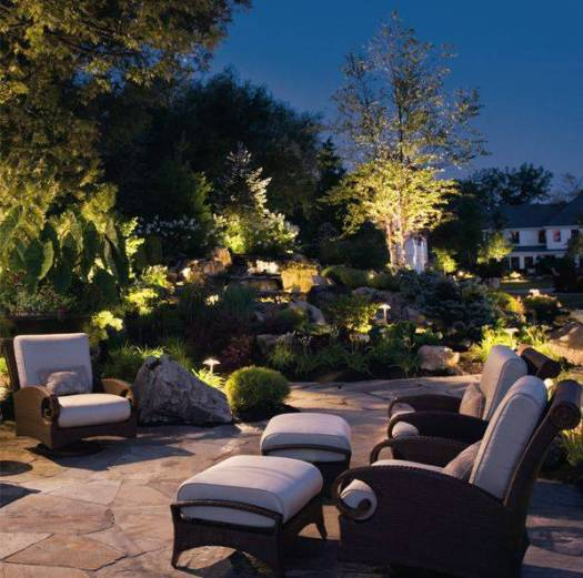 The warmth and ambiance of night lighting is invaluable!