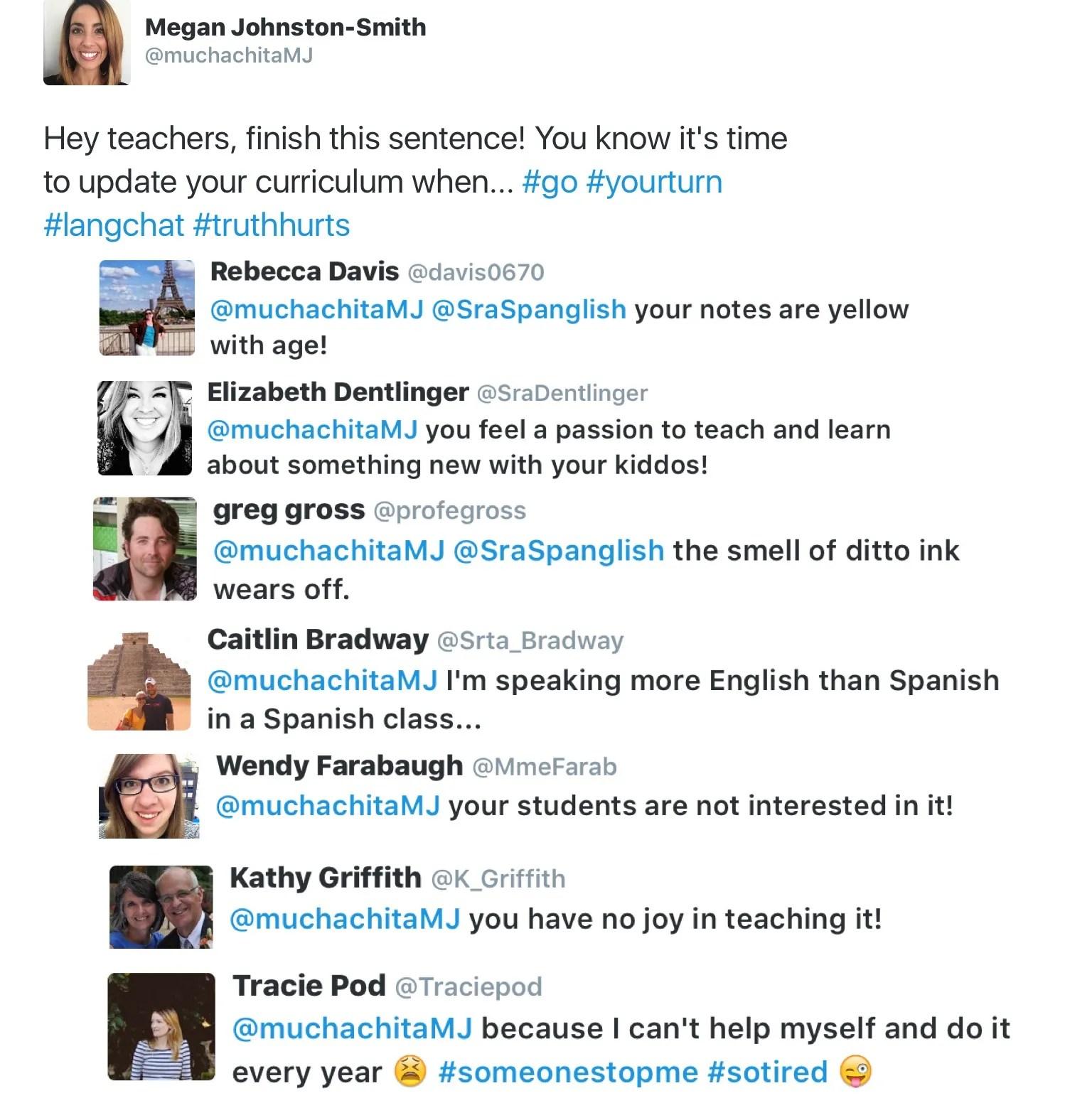 updating world language curriculum