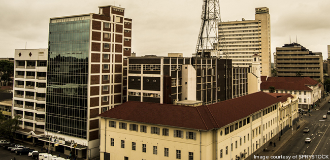A view of Harare, courtesy of Sprystock