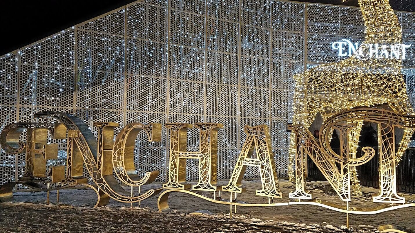 enchant christmas comes to seattle this holiday season