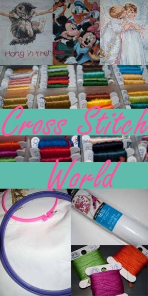 cross stitch world