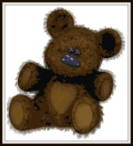 teddybear-cross-stich-vsframed