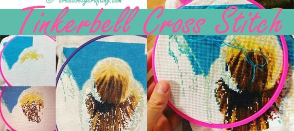 tinkerbell cross stitch