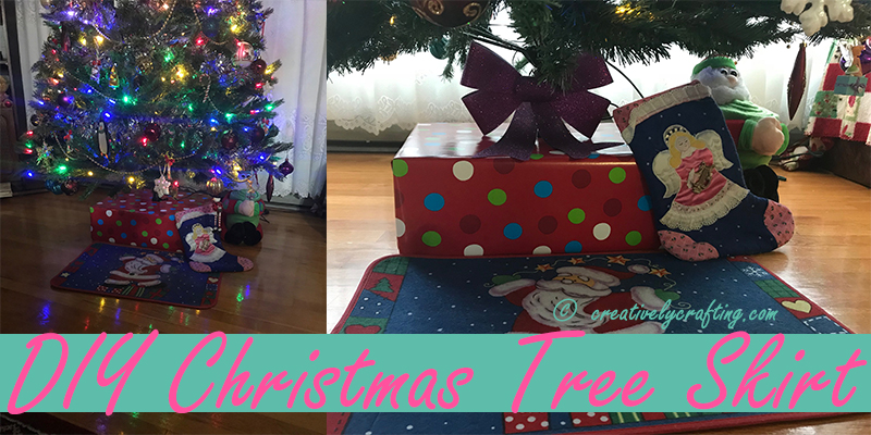 DIY Christmas Tree Skirt