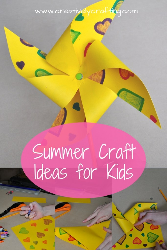 Summer Craft Ideas For Kids Creatively Crafting
