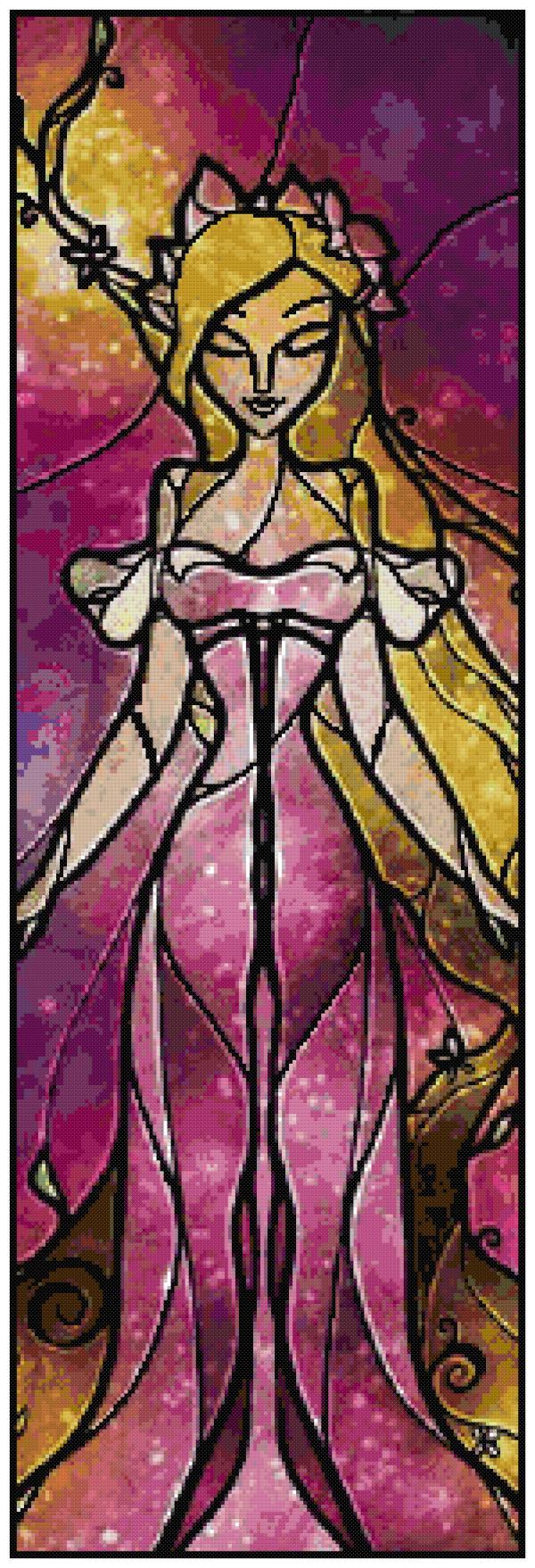Giselle Cross Stitch Pattern