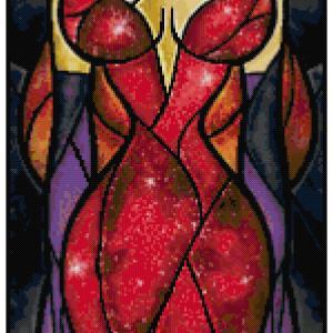 Jessica Rabbit Cross Stitch