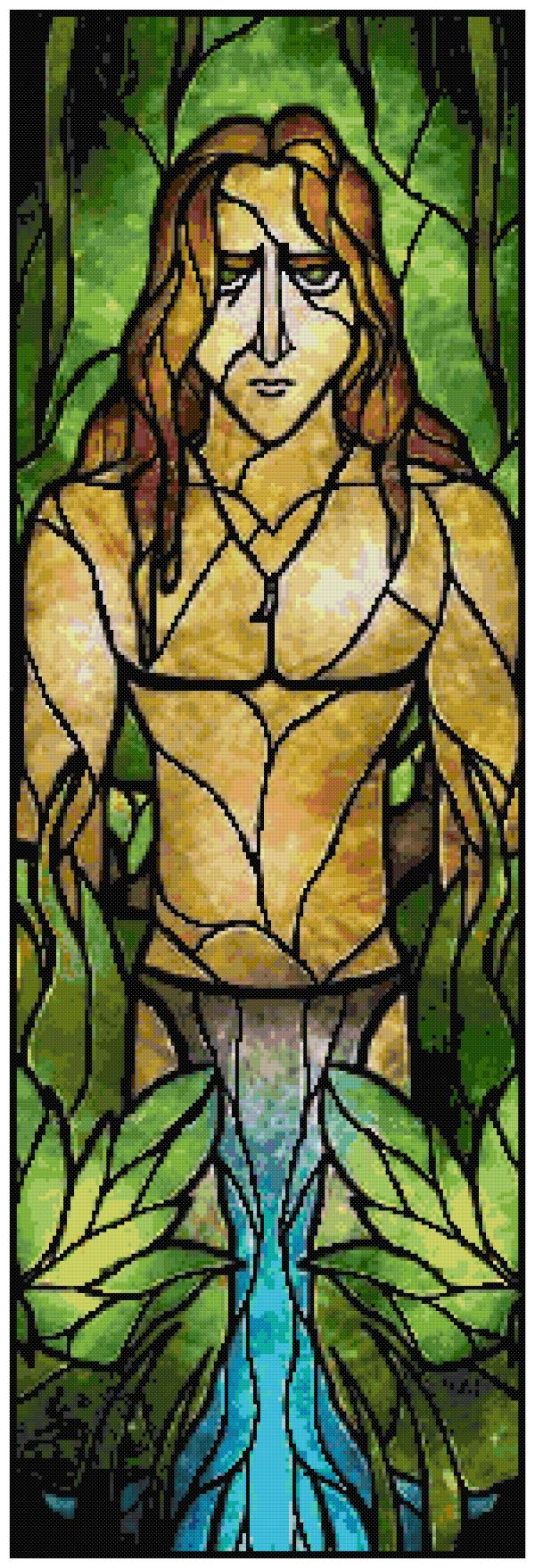 Tarzan Cross Stitch Pattern