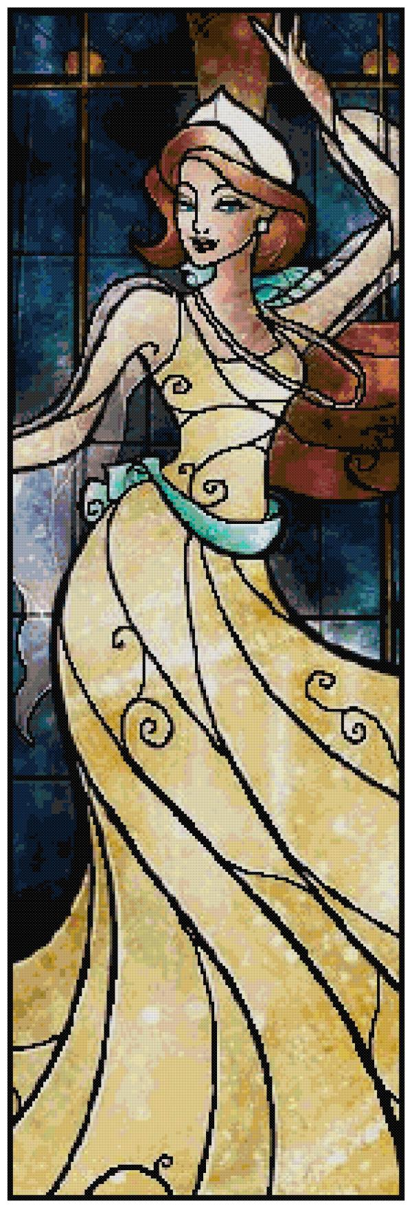 Anastasia Cross Stitch Pattern