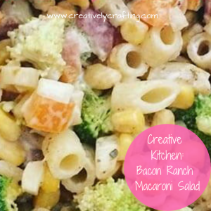 Bacon..ranch.. and pasta - what could taste better! Bacon ranch macaroni salad recipes.