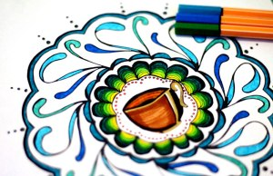 Coffee coloring pages