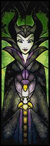 Maleficent Cross Stitch Pattern