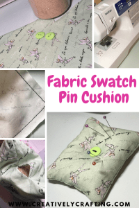 Fabric Swatch Pin Cushion Craft just for you.