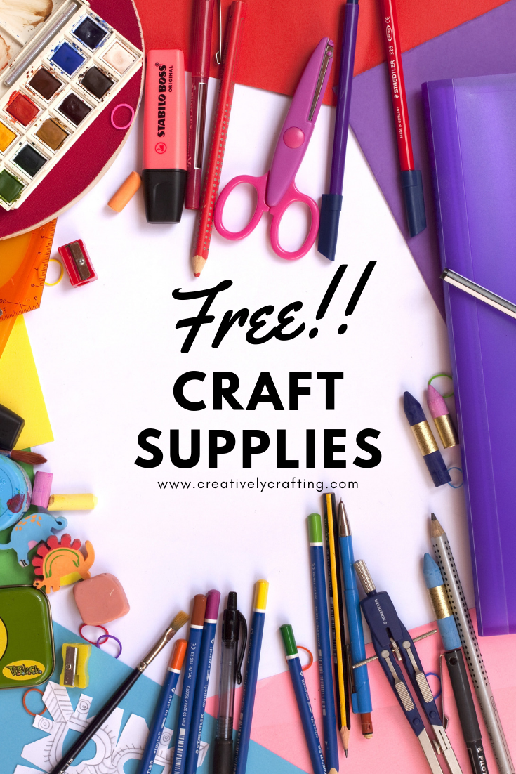 Free Craft Samples - Creatively Crafting
