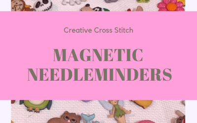 Magnetic Needleminders for Cross Stitch