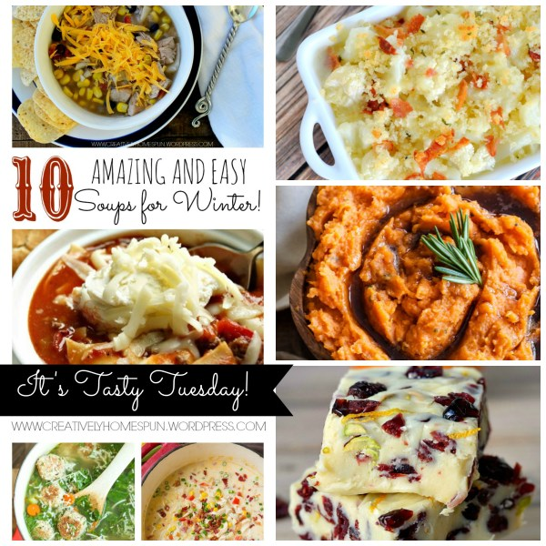 Tasty Tuesday 12/1 Link Party! #linkparty #roundup #wintermeals