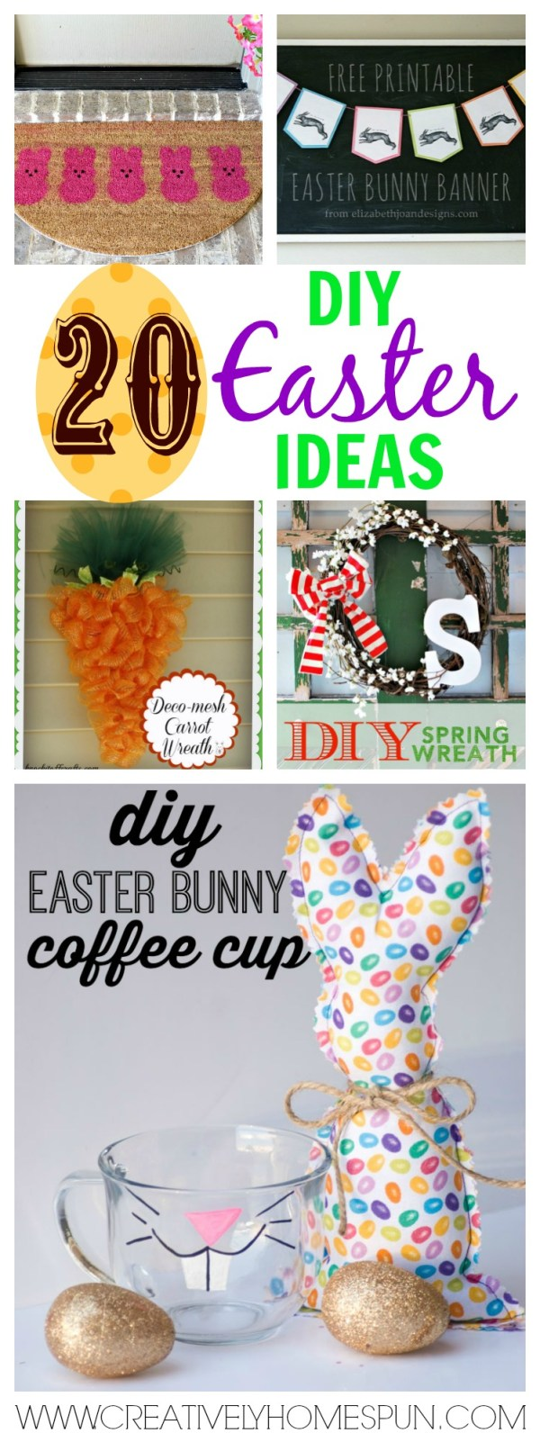 20 diy Easter ideas