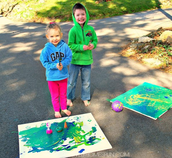 5 Ways to Make Painting Fun -For Kids!