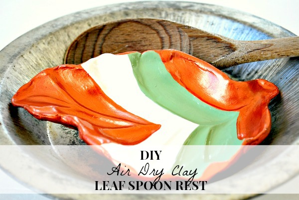 February Create & Share Challenge: DIY Leaf Spoon Rest