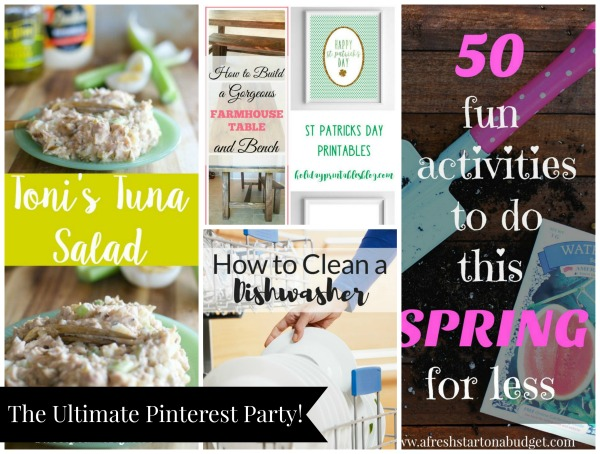 The Ultimate Pinterest Party, Week 137