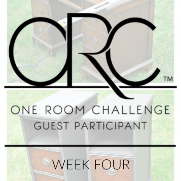ONE ROOM CHALLENGE: Master Bedroom Makeover- Week 4